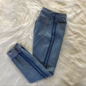 Universal Thread High Rise Raw Hem Skinny Jeans 2.